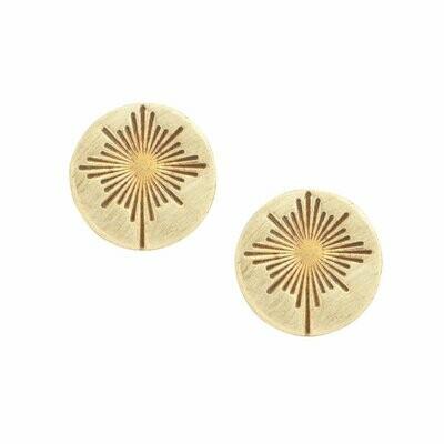 Guiding Star Post Earrings