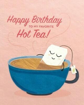 Hot Tea Birthday 22073