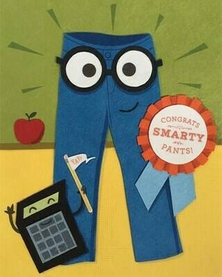 Congrats Smarty Pants Card