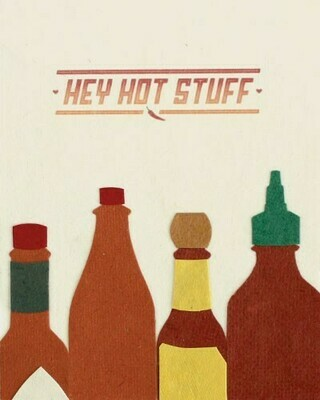 Hey Hot Stuff Card
