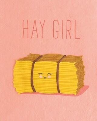 Hay Girl 27010