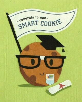 Smart Cookie Congrats Greeting Card