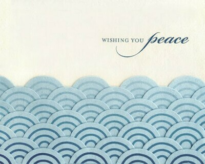 Peaceful Waves Card