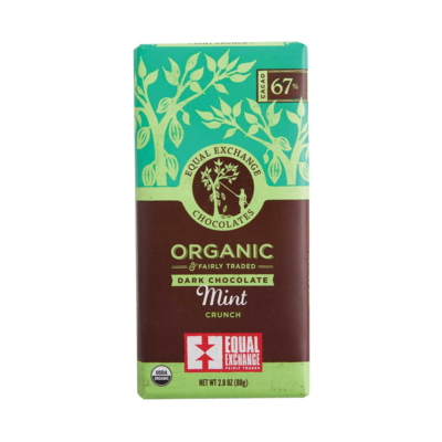 Dark Chocolate Mint Crunch Bar