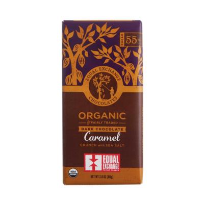 Dark Chocolate Caramel Sea Salt Bar