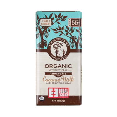 Organic Chocolate with Coconut Milk 18302