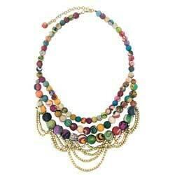 Tangled Kantha Necklace