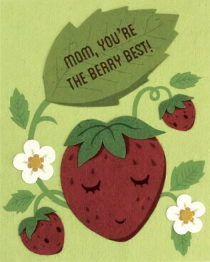 Berry Best Mom Greeting Card