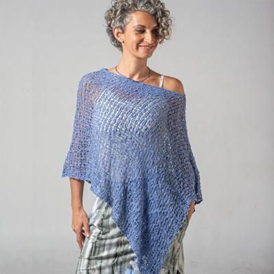 Crocheted Soul Warmer Sleeveless - Amethyst