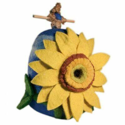 Sunflower Birdhouse 484063