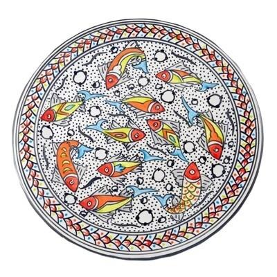 Rainbow Fish Round Platter