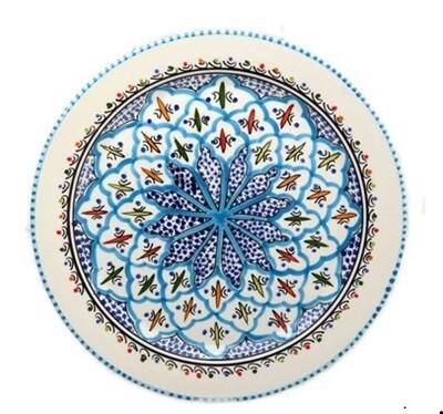 Rosette Round Platter
