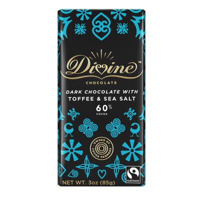 60% Dark Chocolate with Toffee & Sea Salt