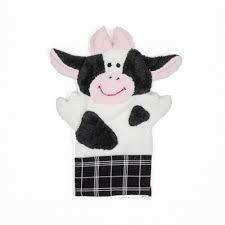 Cow Washcloth