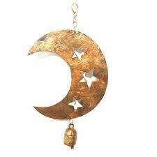Star Cut Moon Chime 94277