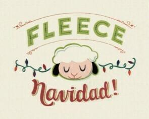 Fleece Navidad 25026