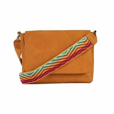 Tan Inti Messenger Bag