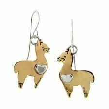 Alpaca Wire Earrings