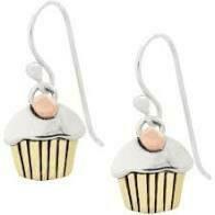 Tiny Cupcake Earrings