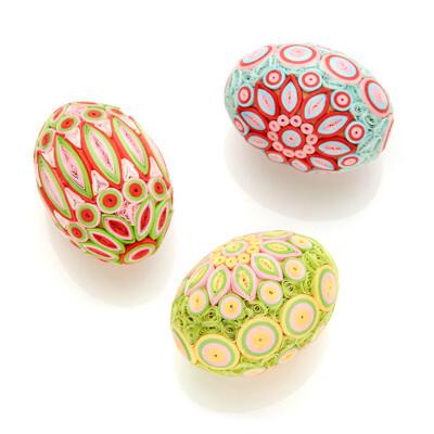 Spring Radiance Quilled Egg 92859
