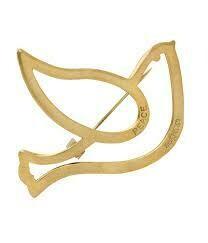 Bombshell Brass Dove