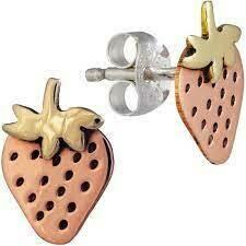 Strawberry Post Earrings