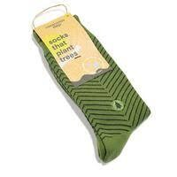 Socks That Plant Trees Lines Design - Medium