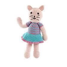 Crocheted Cat Stuffed Animal
