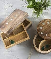 Indukala Moon Phase Jewelry Box