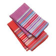 Garden Stripe Tea Towel