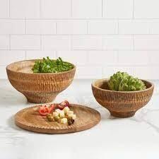 Mango Wood Bowl - Medium