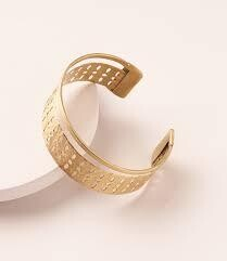 Abhaya Cuff Bracelet