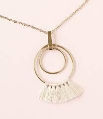Gold Charmed Necklace
