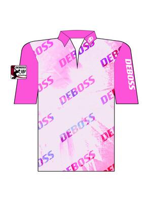FEMME.Deboss Pretty N Pink Jersey