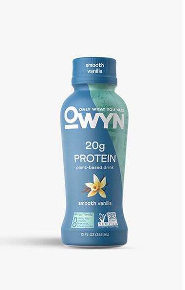 Owyn Drinks Smooth Vanilla