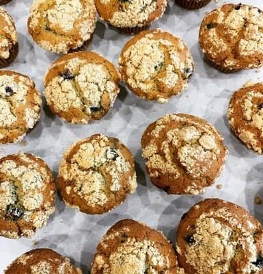 Muffin (Fruit Crumb)