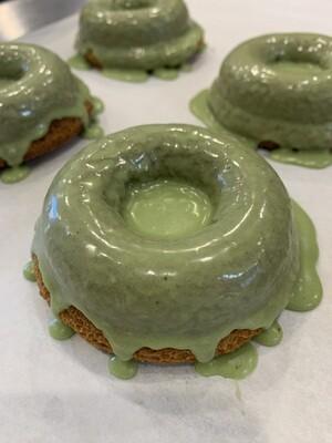 Donut - Vanilla w/ Matcha Glaze