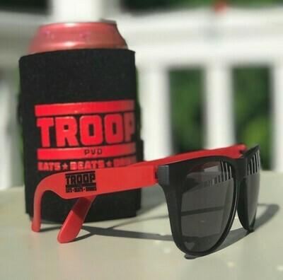 Troop Koozie and Shades Party pack!