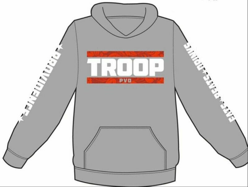 Troop Classic Hoody - Limited edition Grey