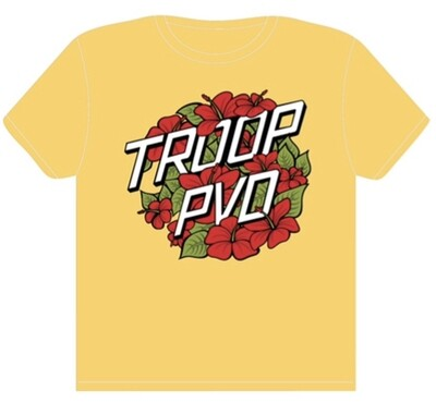 Troop Summertime Tee - Mellow Yellow - - Limited edition