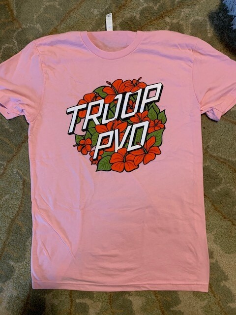 Troop Summertime Tee - Pretty in Pink - Limited edition