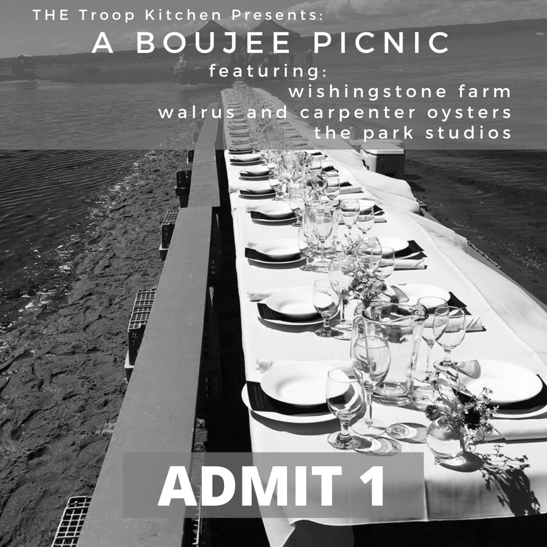 A Boujee Picnic - Admit 1