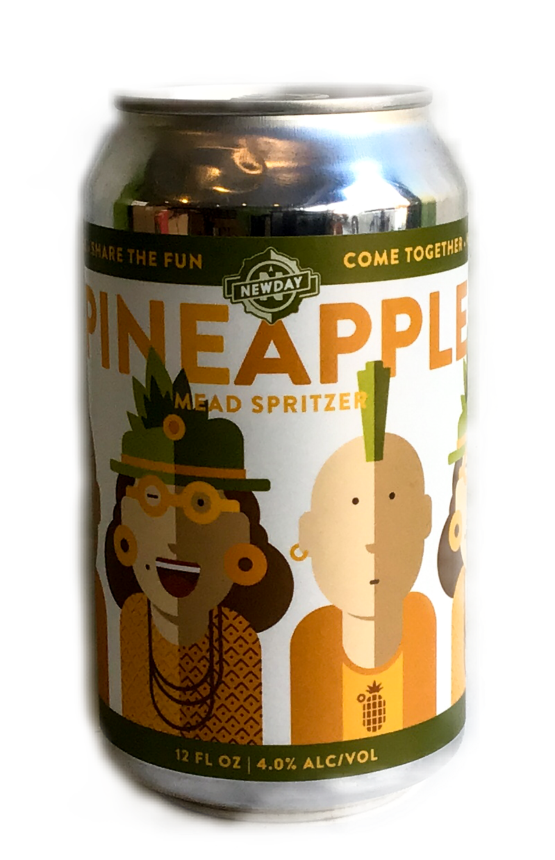New Day Pineapple Mead Spritzer