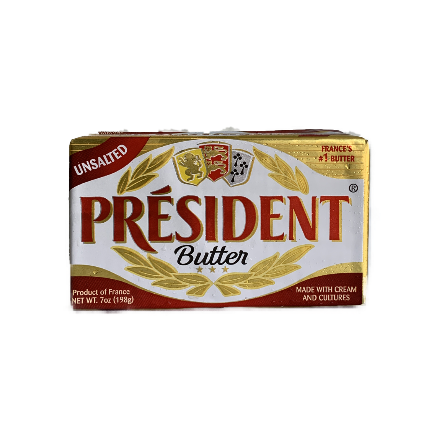 President unsalted butter 7 oz.