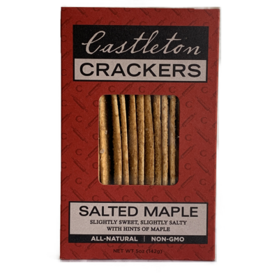 CASTLETON CRACKERS Salted Maple