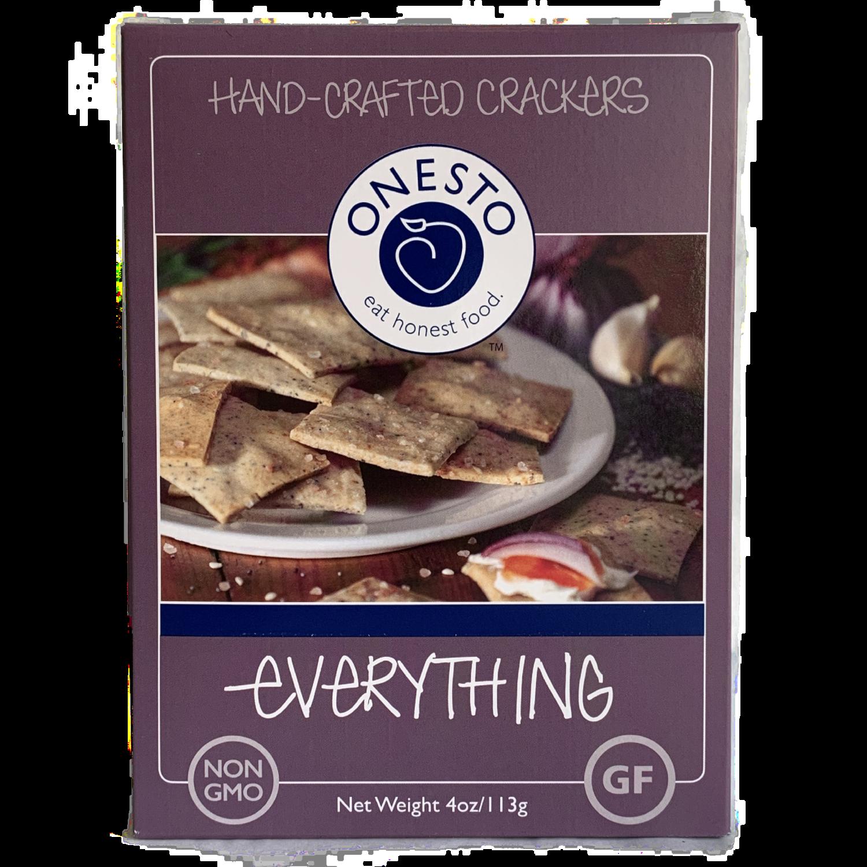 Onesto Everything crackers