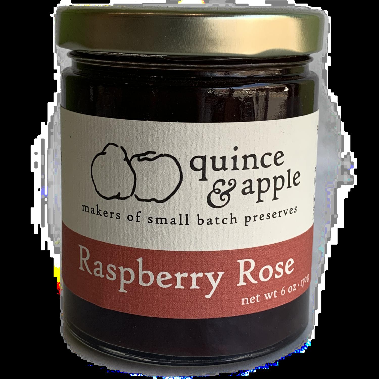 Quince & apple  Raspberry Rose