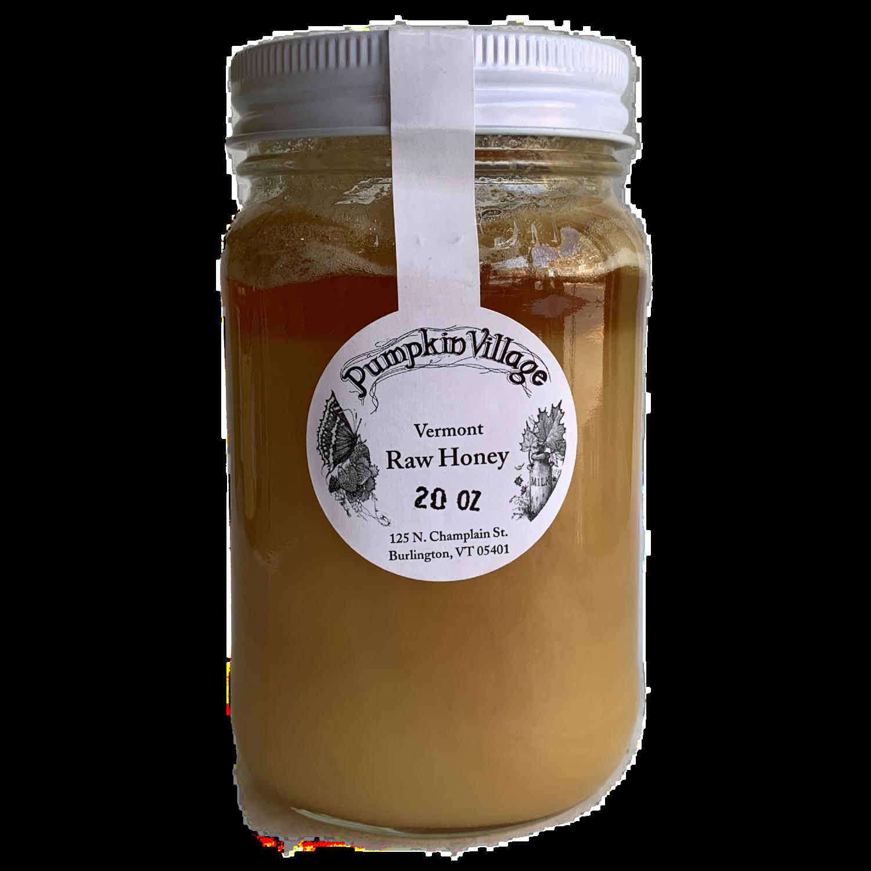 Pumpkin Village raw honey 20 oz.