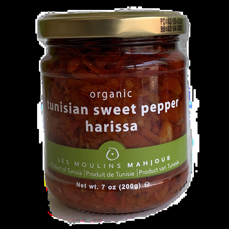 Mahjoub sweet pepper harissa spread 7 oz.