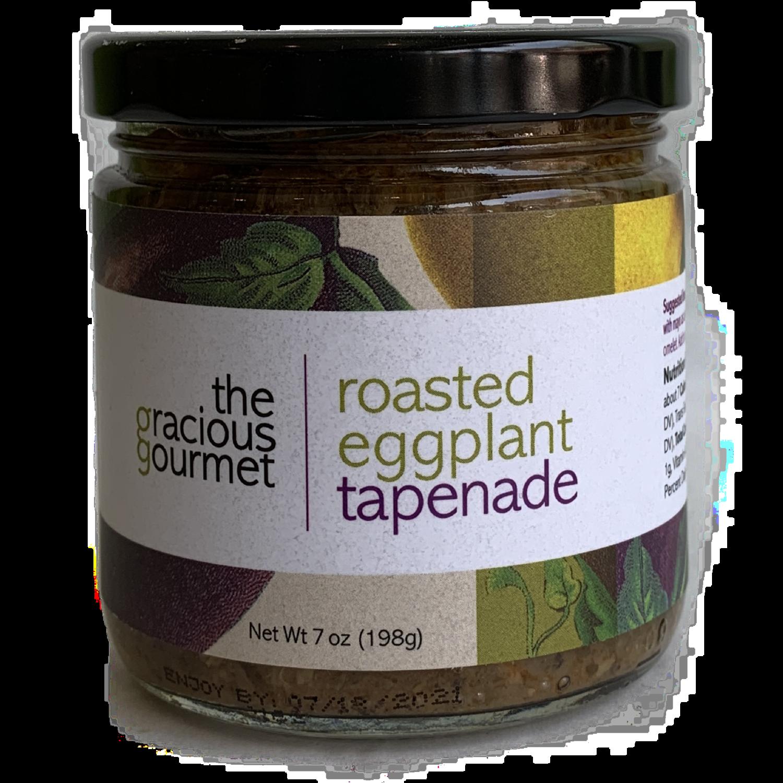 Roasted eggplant tapenade gracious gourmet